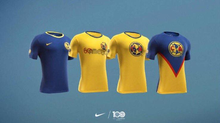 cheaper 30090 d377f Nike Celebrates Club América's Centenary with Four ...