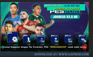 PES JOGRESS V3.5 PPSSPP