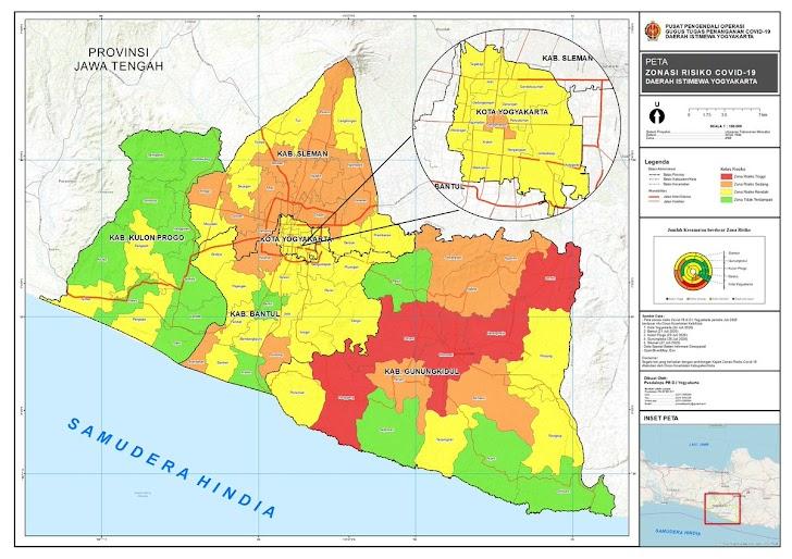 Dikelilingi Zona Merah Covid-19, Yogyakarta Waspadai Kegiatan Limpahan