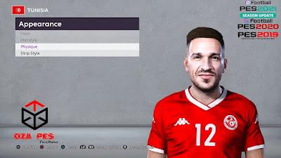 PES 2020 Faces Ali Maâloul by Chakib Guergour