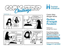 Lomba Comic Strip Nasional 2020, Gratis