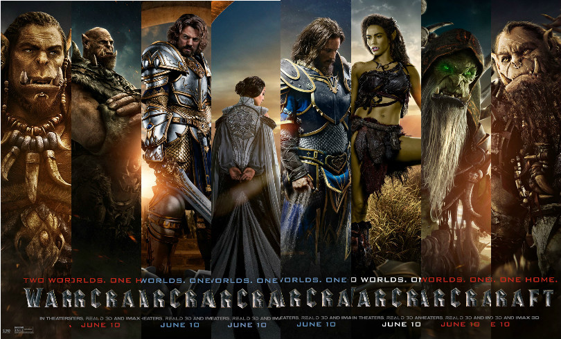 warcraft 2016 movie poster