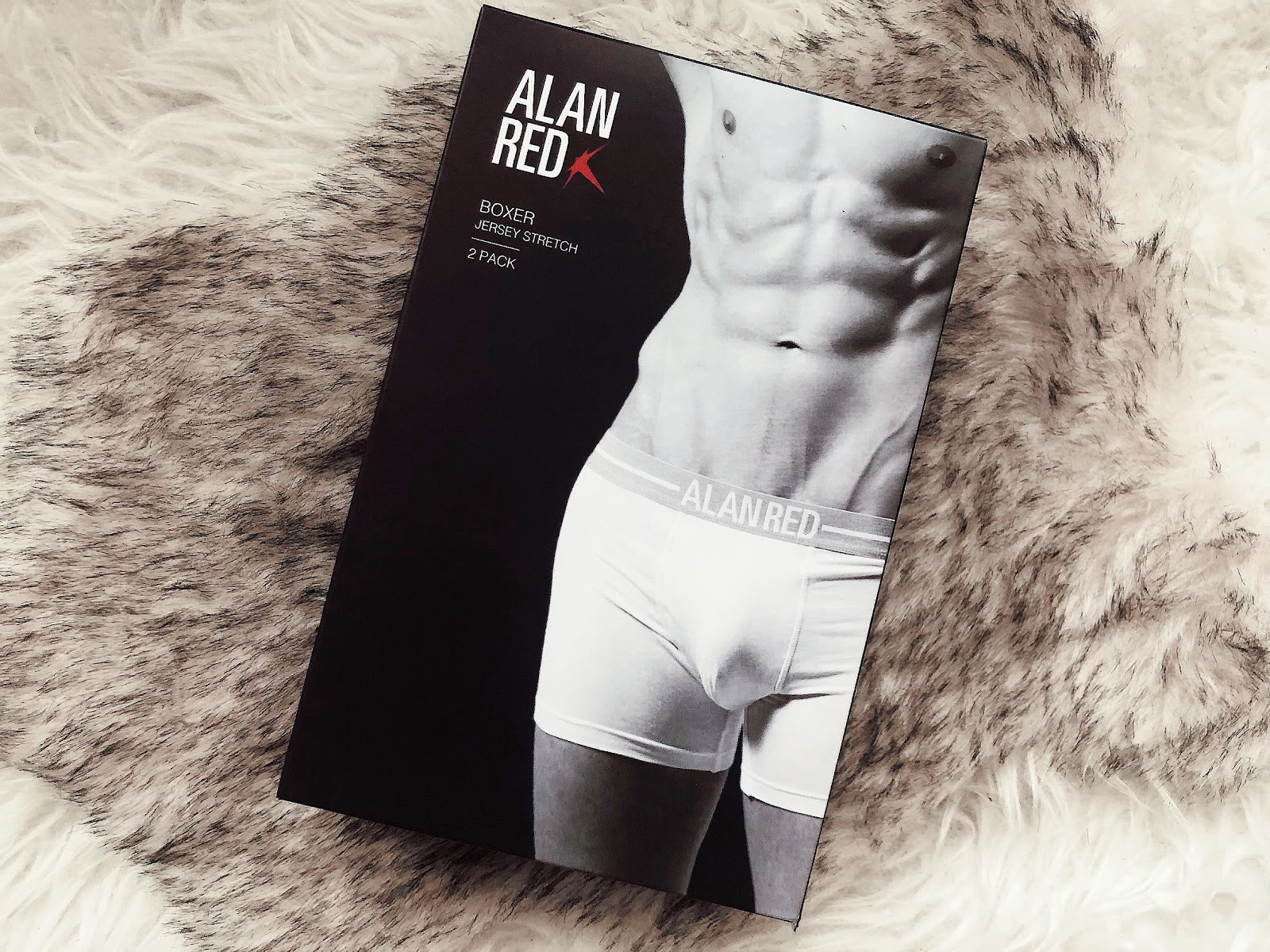 Cadeau idee voor mannen | Alan Red Boxers 2Pack