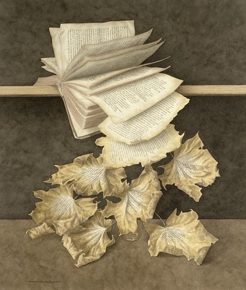 Jonathan Wolstenholme ~ O pintor de livros