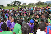 Wanita Peacekeepers Satgas TNI Konga XXXIX-B RDB MONUSCO Peringati Women's Day Di Kongo