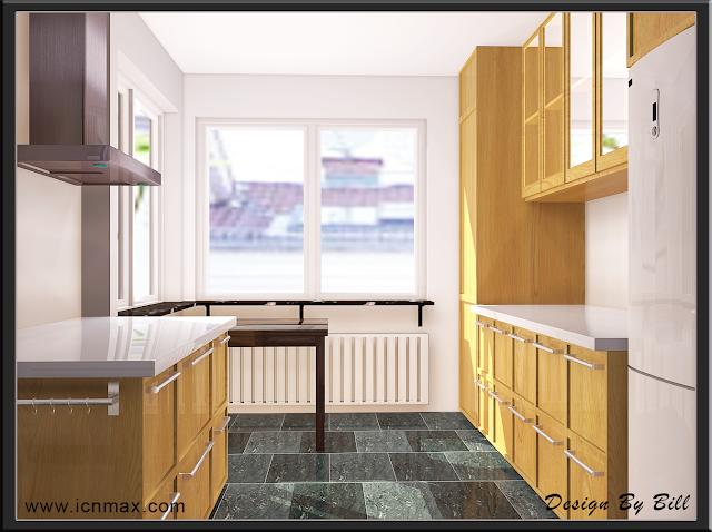 3dsMax廚房設計作品