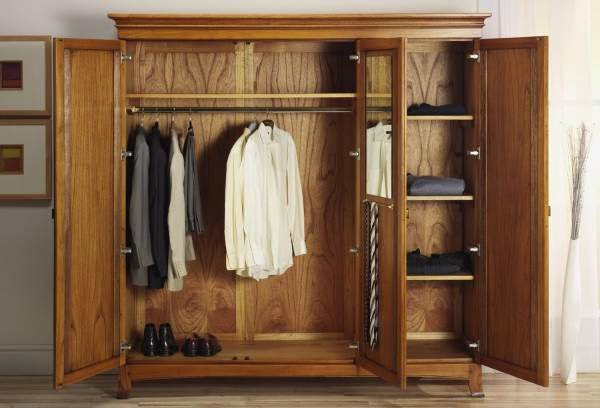model terbaru lemari pakaian minimalis modern