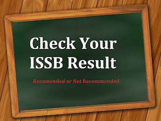 ISSB Result