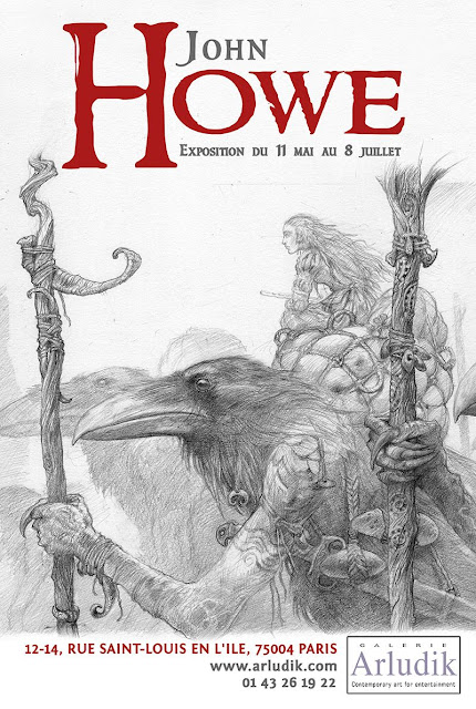 john howe poster for exhibition