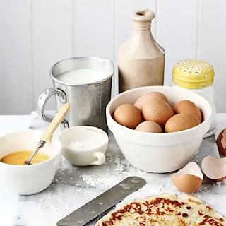 ingredients ready for Nigerian pancake