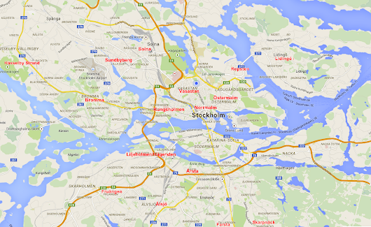 Where to live in Stockholm