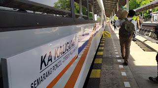 PT KAI DAOP 3 Cirebon Luncurkan KA Kaligung, Perdana Berangkat Dari Prujakan