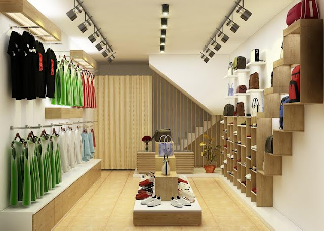 Thiết kế shop thời trang nhỏ đẹp - Mẫu số 5