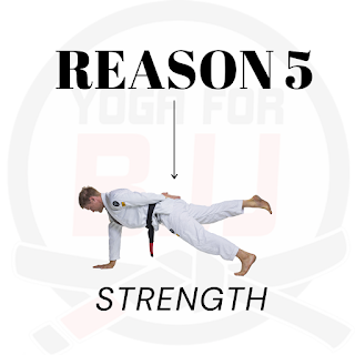 Strength improves your BJJ