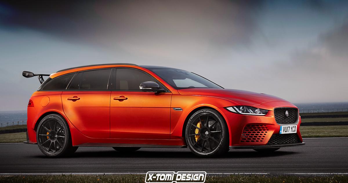 X-Tomi Design: Jaguar XE SV Project 8 Sportbrake