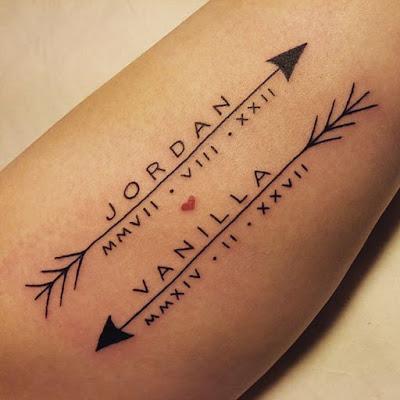 Tatuajes de Nombres