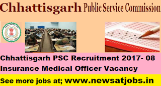Chhattisgarh-PSC-Insurance-Medical-Officer-Recruitment-2017