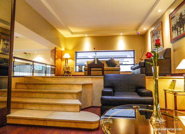 Hotel Reina Isabel, sala de estar