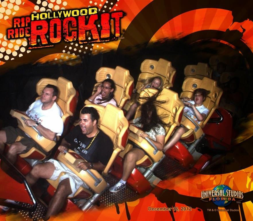 Universal Studios Rip Ride Rockit