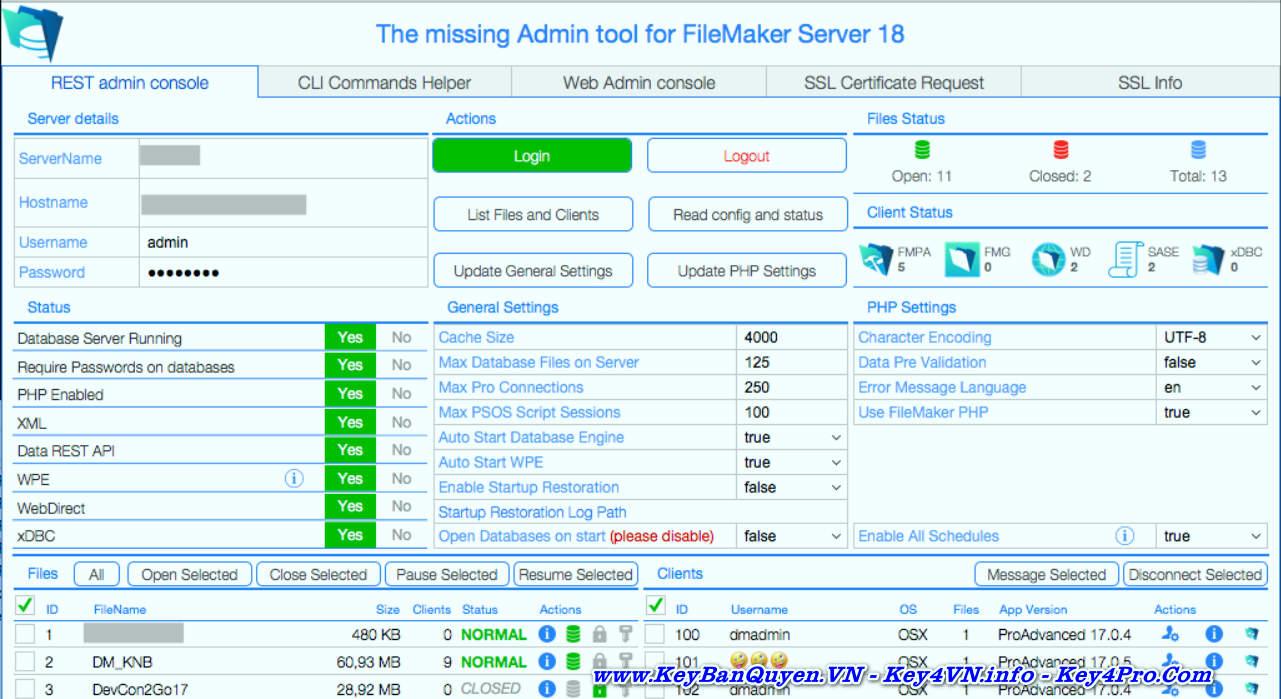 Download và cài đặt FileMaker Server 18.0.3.319 Full Key, Quản lý đa chiều về cơ sở dữ liệu.