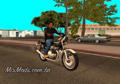 gta sa mod bike moto kawasaki z1000a1 1977 77' leve sem lag