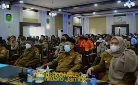 Bupati Masnah Busro Hadiri Rapat Koordinasi Karhutla Provinsi Jambi