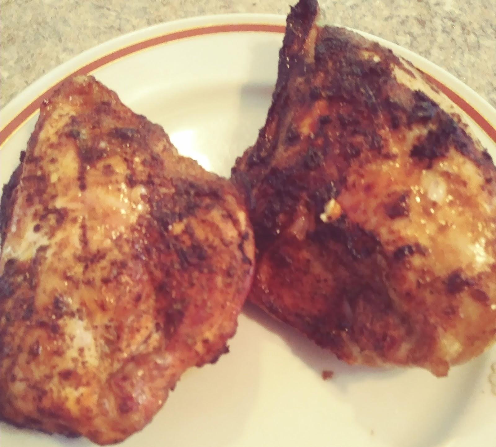 Smoked Bone in Chicken Breasts