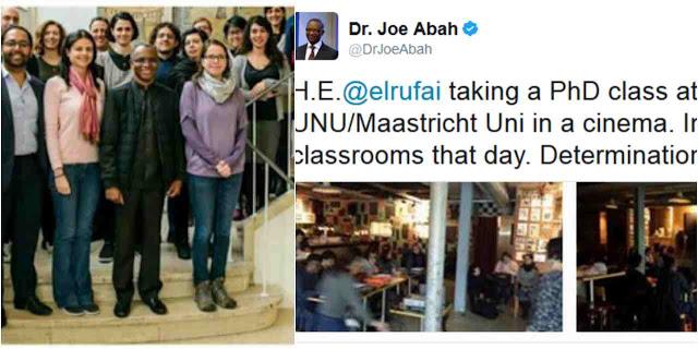 Doctor of Philosophy, United Kingdom, News, UNU-MERIT, Kaduna State, United Nations,