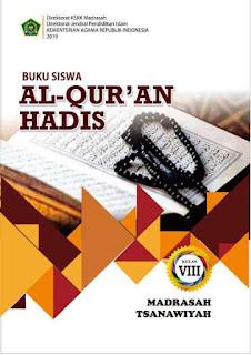 Buku Al Quran Hadis Kelas 9 MTs