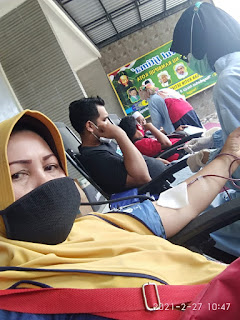 Komitmen Bantu Sesama, NU Ranting Rambipuji Rutin Gelar Donor Darah