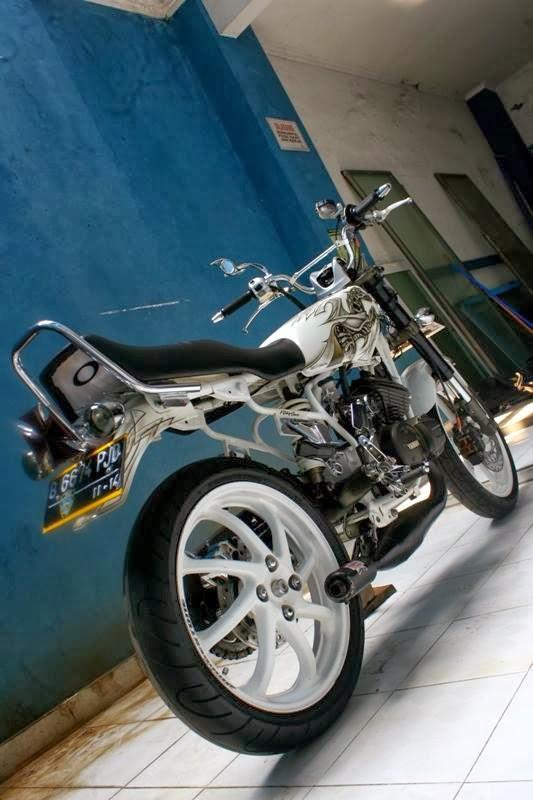 Gambar Modifikasi Motor Yamaha RX King Terbaru
