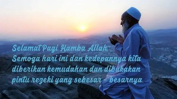 Kata Ucapan Selamat Pagi Islami Lengkap Buzid