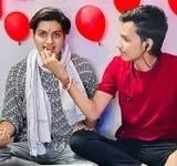 रतन चाैहान अपने भाई के साथ