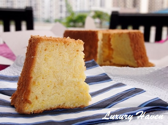 budofjoy organic orange chiffon cake review