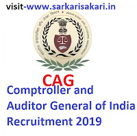 Comptroller and Auditor General of India Recruitment