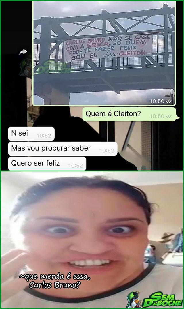 LARGA ELA E CASA COMIGO