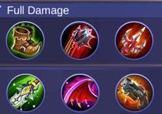 Build thamuz paling sakit full damage