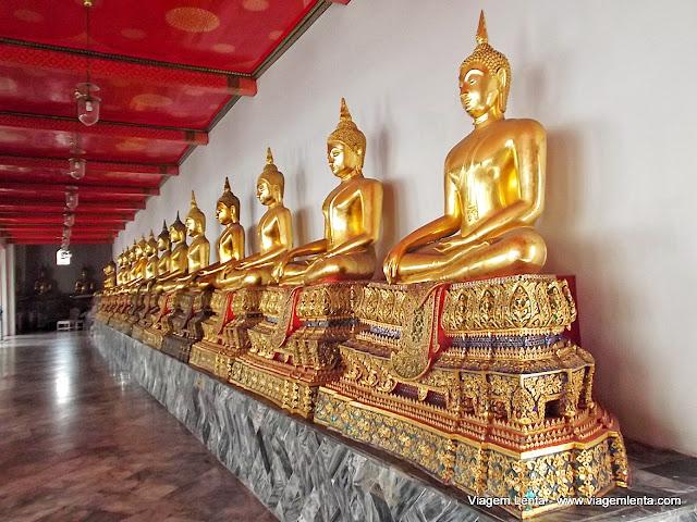 Muitos, muitos Budas no Wat Pho