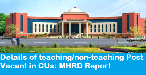 details-of-teaching-non-teaching-post-vacant-in-cu-paramnews-mhrd