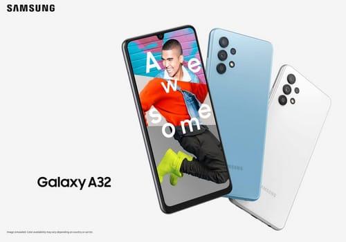 Samsung announces the Galaxy A32 4G phone