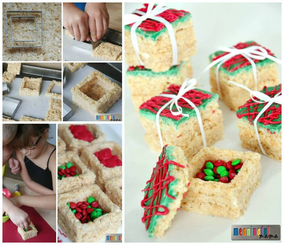 Rice Krispies Treats Presents With A Surprise!!