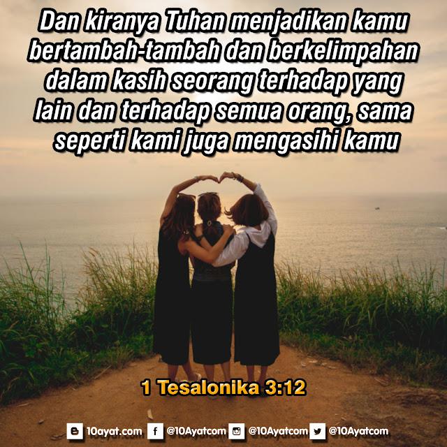 1 Tesalonika 3:12