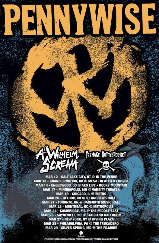 <center>Pennywise announce US tour</center>