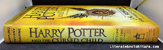 harry potter and the cursed child book spine