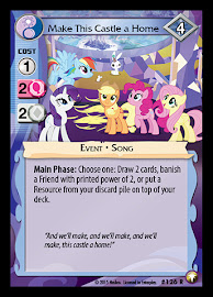 My Little Pony Make This Castle a Home Equestrian Odysseys CCG Card