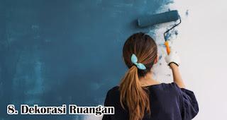 Dekorasi Ruangan merupakan salah satu rekomendasi ide bisnis menguntungan jelang lebaran idul fitri