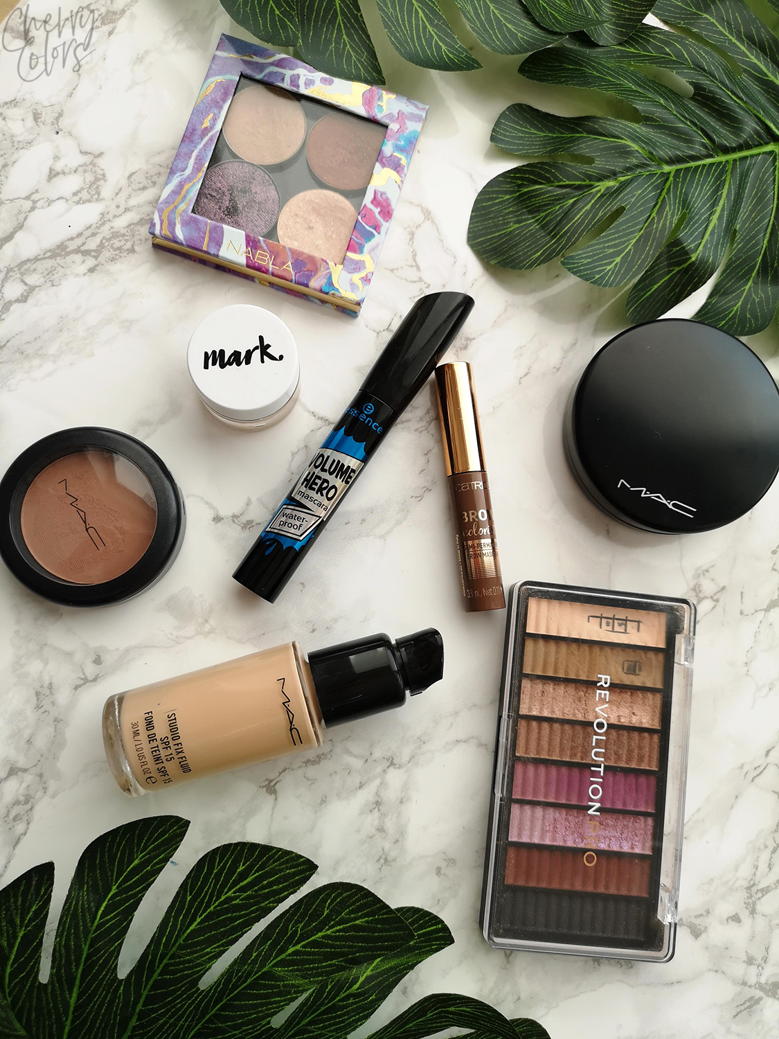 My 8 Favorite Makeup Items