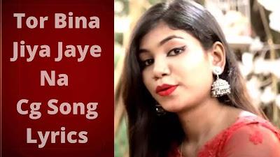 Tor Bina | Cg Song | Lyrics | Sunaina Karwa