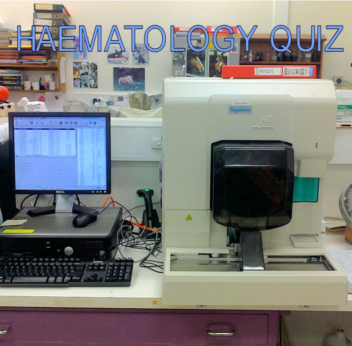 Medical Laboratory and Biomedical Science: Haematology Quiz