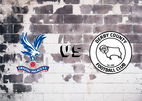 Crystal Palace vs Derby County  Resumen
